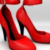 Speedmodeling: High heel